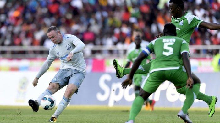 Wayne Rooney Langsung Cetak Gol Indah untuk Everton