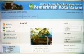 Website Dinas Pendidikan Batam Membingungkan!!!