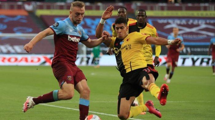 Hasil Liga Inggris - West Ham Bungkam Watford 3-1, Poin Penting Jauhi Zona Degradasi