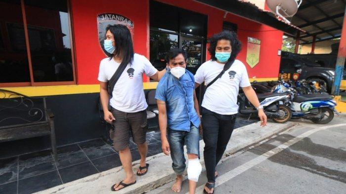 Anggota Buser Macan Barelang Nyaris Ditikam saat Tangkap Begal, Berduel Hebat dan Pelaku di Tembak