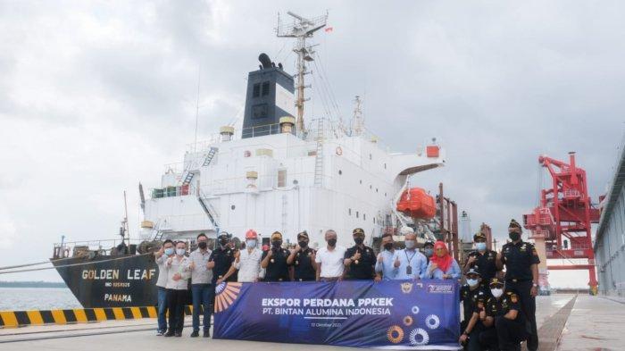 PT BAI Ekspor Perdana Alumina Senilai Rp 110 Miliar, KEK Galang Batang Berhasil Menjadi Pelopor