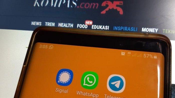 Pasca Keluarkan Kebijakan Baru WhatsApp Merosot, Pengguna Signal & Telegram Naik