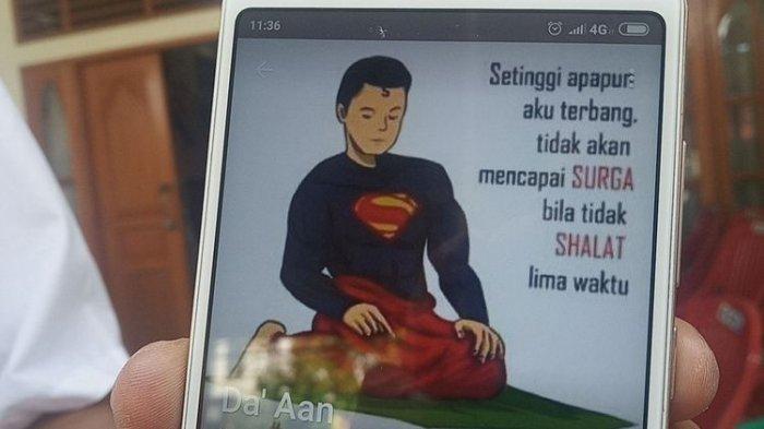 Superman Bersarung: Setinggi Apa Pun Aku Terbang Tak Akan Mencapai Surga Bila Tak Salat 5 Waktu