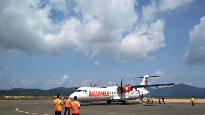 Kasatpel Bandara Letung Minta Maskapai Tambah Frekuensi ke Anambas