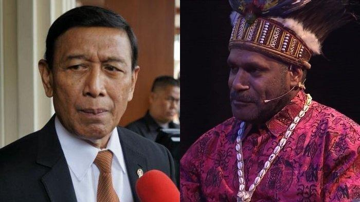 Benny Wenda Ingin Bertemu Presiden Jokowi dengan Syarat, Begini Jawaban TegasWiranto