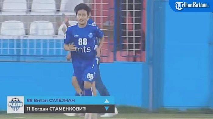Witan Sulaiman Jadi Starter, FK Radnik Surdulica Raih Hasil Seri Lawan FK Voždovac