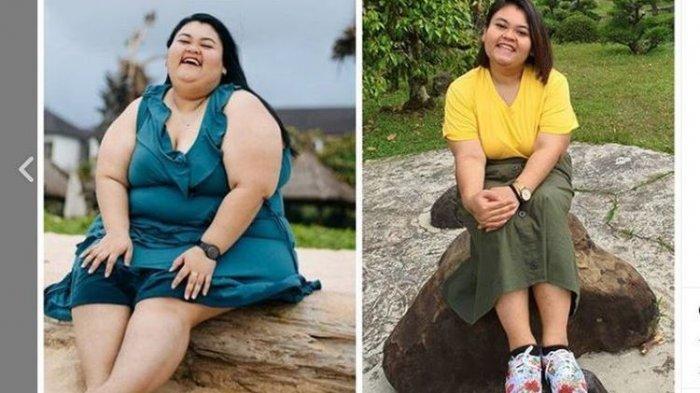 Kisah Wanita Bandung! Demi Sehat 1 Tahun 5 Bulan Turunkan Berat Badan dari 150 Kg Menjadi 88 Kg