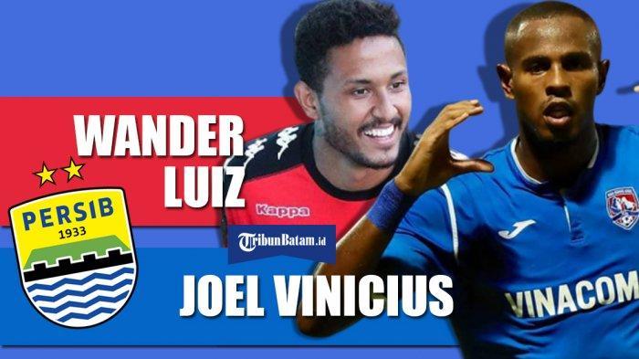 Transfer Liga 1 2020 - Profil Wander Luiz dan Joel Vinicius, Calon Pemain Persib Bandung dari Brazil