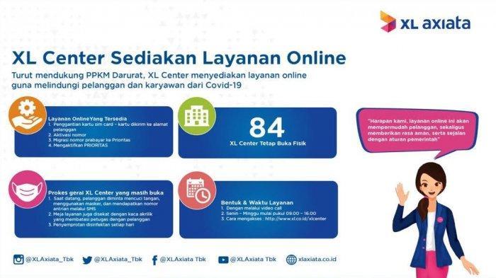Pengguna XL Bisa Manfaatkan Layanan Online Selama PPKM Darurat, Begini Caranya