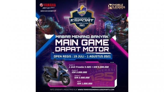 Yamaha Generasi 125 E-Sport Competition 2021