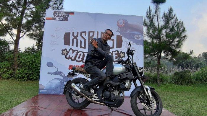 Ade Purnama, konsumen XSR 155 dan member XSR Brotherhood Indonesia
