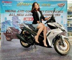 Promo Yamaha New Aerox Bulan Juni, Pembeli Gratis Angsuran Satu Bulan