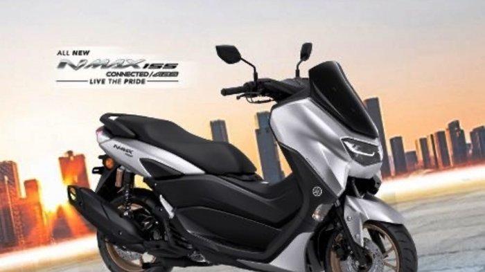 Yamaha All New NMAX 155 C/ABS Prestige Silver siap mengaspal di Kepri.