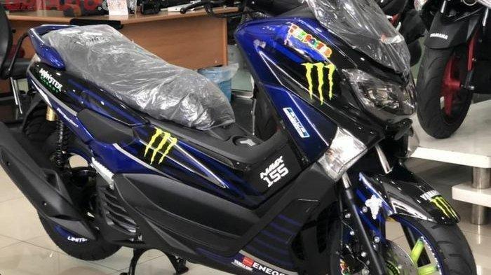 Tersedia NMAX Livery Monster Energy Yamaha MotoGP, Segini Harga Jualnya