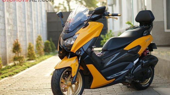 Yamaha NMAX pakai bodi kit custom