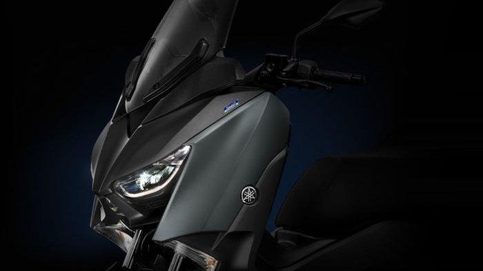 Penampakan Yamaha XMAX Tampang Baru, Kaki Makin Sexy, Warna Gold Jadi Pilihan