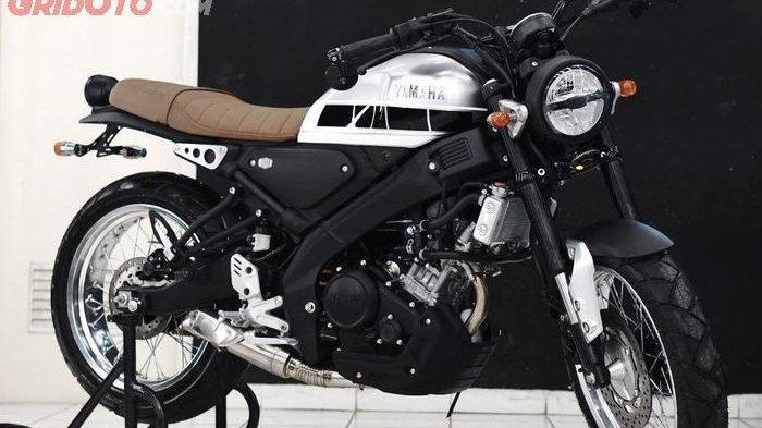 Modifikasi Unik Yamaha XSR155, Minimalis tapi Tetap Klasik