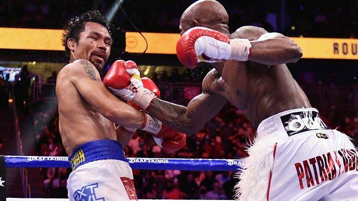 Hasil Tinju Dunia Yordenis Ugás vs Manny Pacquiao, Kalahkan PacMan, Ugás Pertahankan Gelar Juara WBA