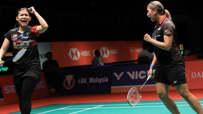 Hasil Malaysia Master 2019 - 9 Wakil Indonesia Gugur 6 ke Perempat Final, Ganda Putri Mengagumkan