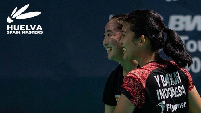 Hasil Final Spain Masters 2021,  Yulfira Barkah/Febby Valencia Dwijayanti Gani Juara Ganda Putri