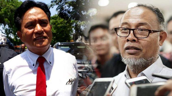 Sidang Sengketa Pilpres di MK Jumat Pagi Ini, Yusril Ihza Mahendra vs Bambang Widjojanto