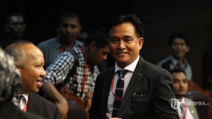 Kubu Prabowo Ajukan Sengketa Pemilu ke Mahkamah Konstitusi, Yusril Ihza: Pembuktiannya Tidak Mudah