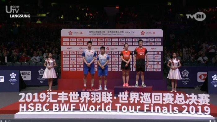 Hasil Final BWF World Tour Finals 2019, Zheng Siwei/Huang Yaqiong Juara Ganda Campuran