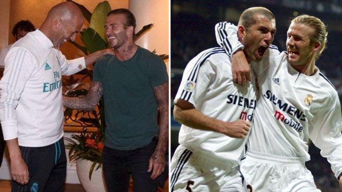 David Beckham Bertemu Zidane Jelang Final Liga Champions: Tolong, Kalahkan Liverpool