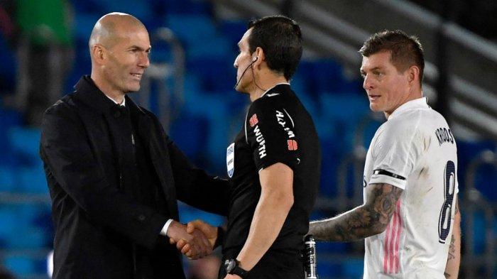 Real Madrid Imbang Lawan Sevilla, Zidane: Saya Tak Pernah Bicara Wasit, Tapi Kali Ini Saya Marah