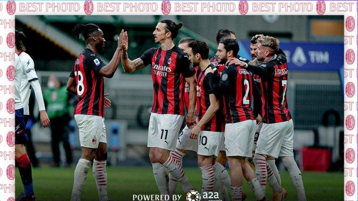 Hasil, Klasemen, Top Skor Liga Italia Setelah Lazio & AC Milan Menang, Zlatan Ibrahimovic 14 Gol