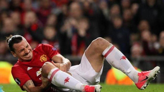 Zlatan Ibrahimovic Cedera Hingga Akhir Musim