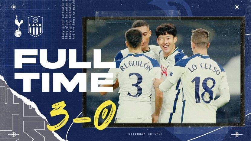 Hasil Liga Europa Tottenham Vs Lask Gareth Bale Main Carlos Vinicius 2 Assist Tottenham Menang Tribun Batam