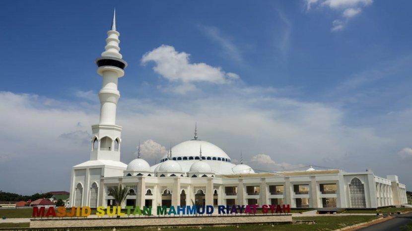 Sejarah Masjid Sultan Mahmud Riayat Syah Batam Arsitektur Megah Mirip Masjid Nabawi Tribun Batam