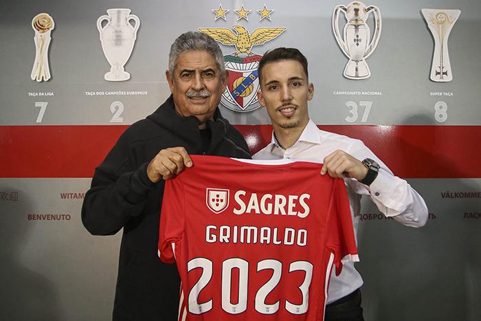Alex Grimaldo saat bergabung dengan Benfica pada tahun 2019