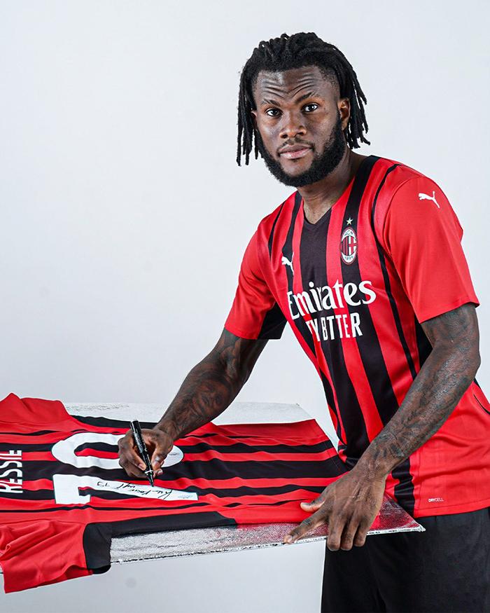 Gelandang AC Milan asal Pantai Gading Franck Kessie diincar Liverpool