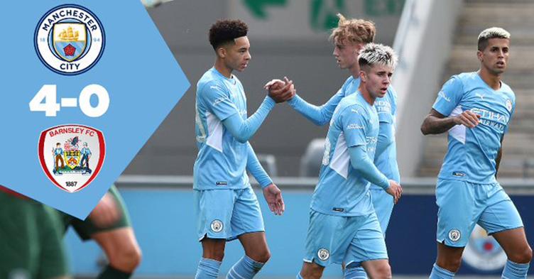 Hasil Mancheser City vs Barnsley di laga ujicoba pramusim, Sabtu 31 Jui 2021 - Man City menang 4-0