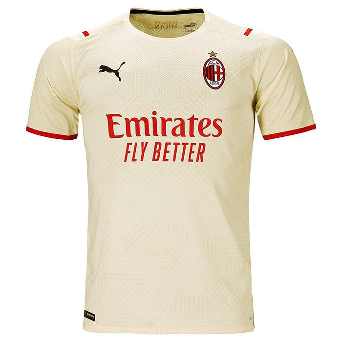 Jersey away AC Milan untuk musim 2021-2022