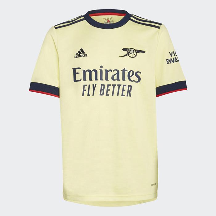 Jersey tandang Arsenal untuk musim 2021-2022