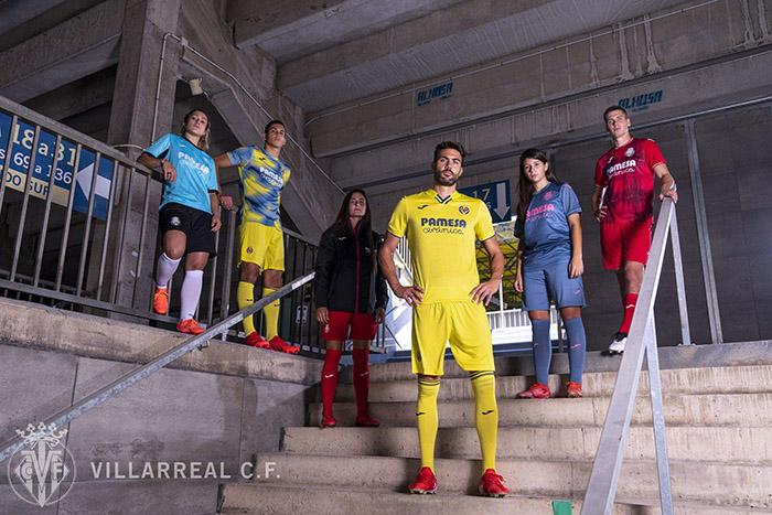 Jersey baru Villarreal yang akan digunakan di musim 2021-2022