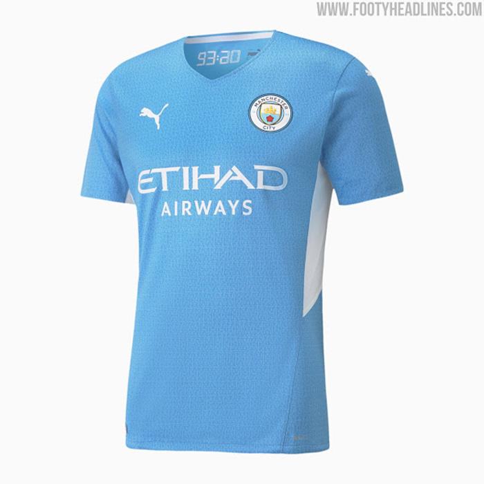 Jersey Kandang Manchester City 2021-2022