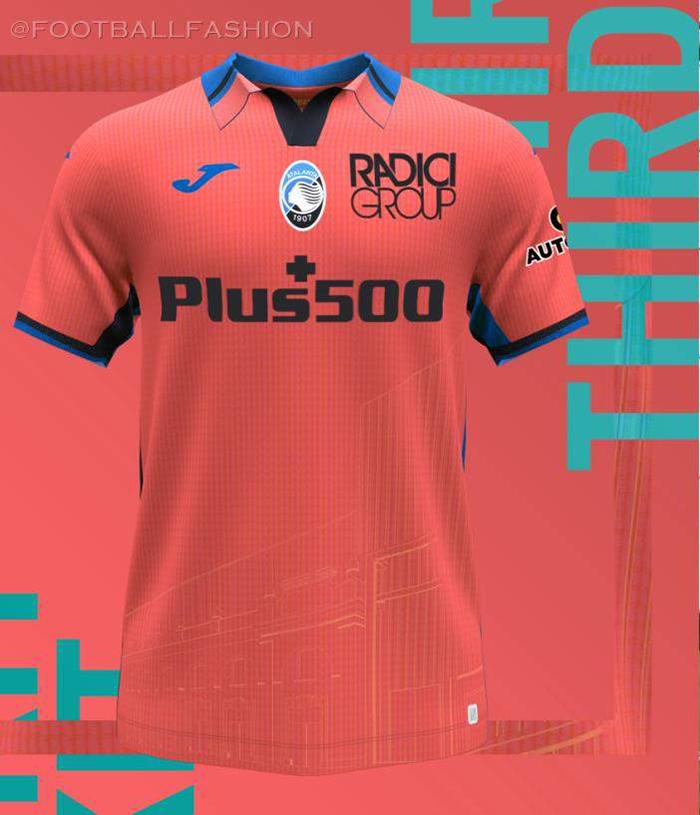 Jersey ketiga Atalanta BC musim 2021-2022