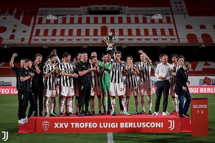 Juventus juara Trofeo Berlusconi setelah mengalahkan AC Monza 2-1