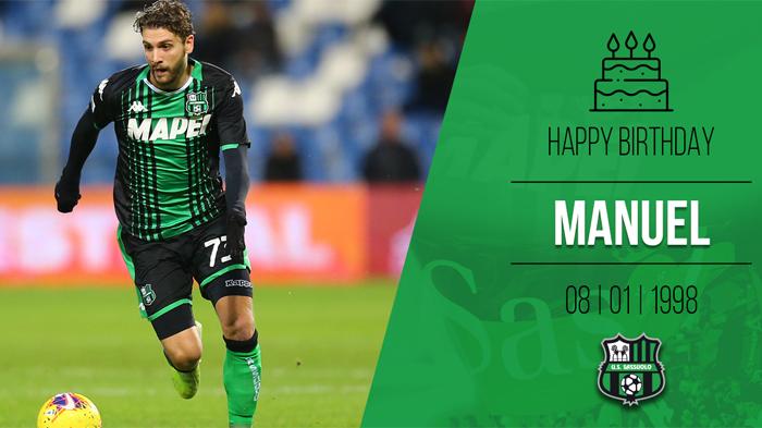 Manuel Locatelli, pemain Sassuolo asal Italia kelahiran 8 Januari 1998