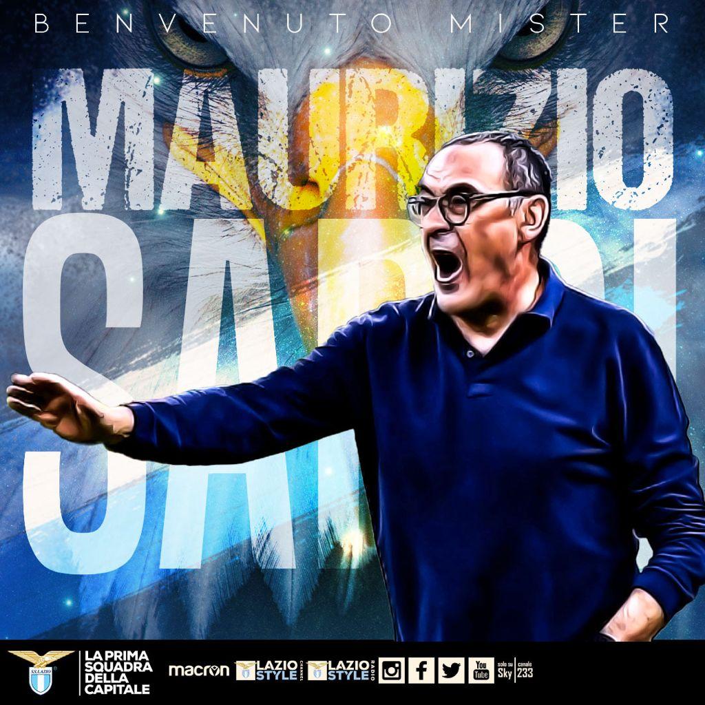 Maurizio Sarri resmi ditunjuk sebagai pelatih Lazio mulai musim 2021-2022