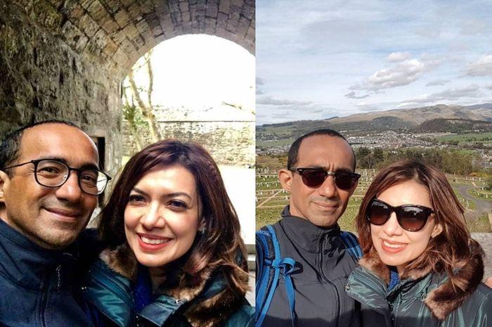 Najwa Shihab dan suami