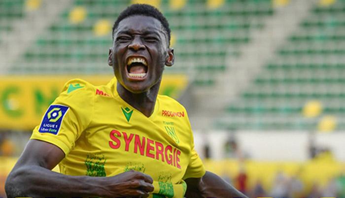 Randal Kolo Muani, striker Nantes asal Prancis