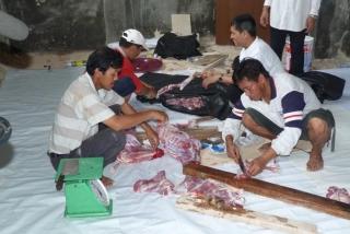 Tebar Qurban ke Pulau kerjasama BAZ dan Tribun Batam - baz_tribun0791_(5).JPG
