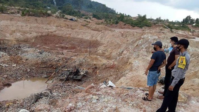 Kasat Reskrim Polres Beltim Minta Kegiatan di Lokasi yang Menewaskan Penambang Disetop