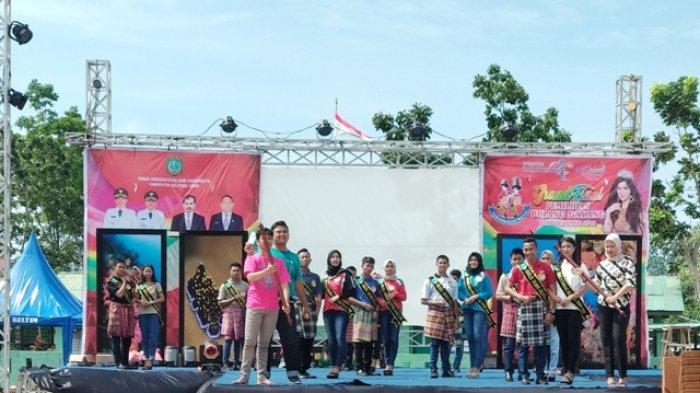 20 Finalis Bujang Dayang Belitung Timur 2018 Ikut Gladi Bersih Grand Final