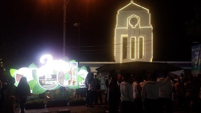 Jam Gede Simbol Kejayaan Timah di Belitung, Kini Hadir Mempercantik Jantung Kota